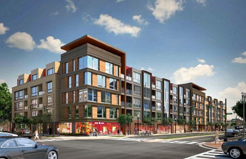 Clarendon S 10th Street Flats Mixed Use Development Gets