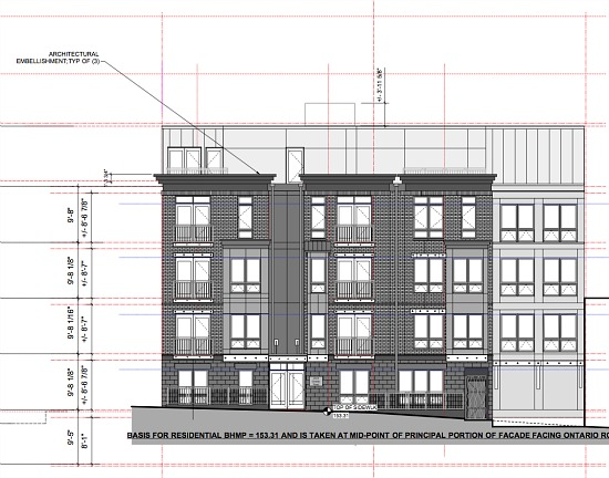 20-Unit Building in Adams Morgan Seeks BZA Approval: Figure 1