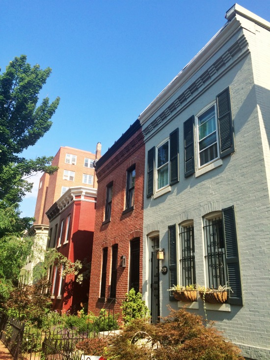 DC's Hidden Places: Caroline Street: Figure 1