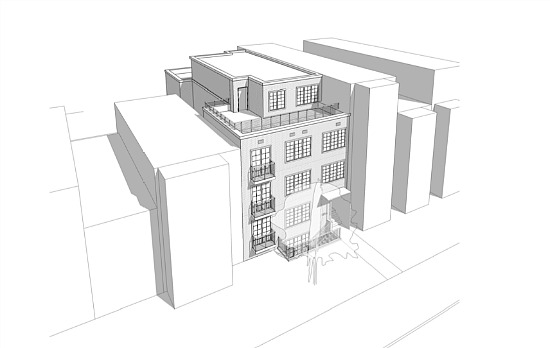 9-Unit Project Planned For Former Halfway House in Shaw: Figure 1