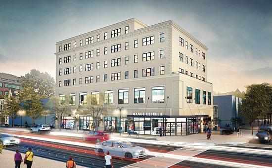 26 Units With Retail: Douglas Development's H Street Plans: Figure 1