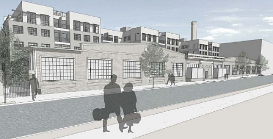 225-Unit Project Planned For Linens Factory in Park View: Figure 1