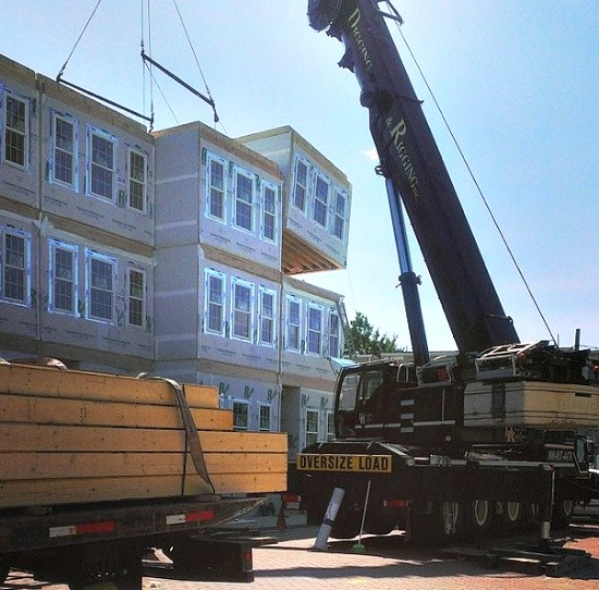 Two Modular Homes Go Up on DC's Richardson Place: Figure 2