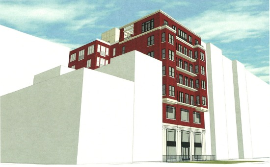 20-Unit Mixed-Use Building Proposed for 16th Street Planned Parenthood Site: Figure 1