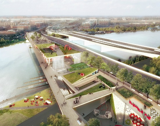 The Winning Design for DC's 11th Street Bridge Park: Figure 2