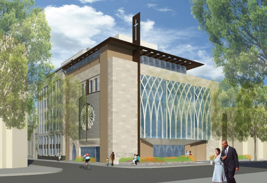 New Design Released for Dupont Circle Church Development: Figure 4