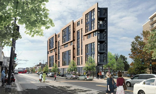 34-Unit Mixed-Use Building Planned for H Street's East End: Figure 1
