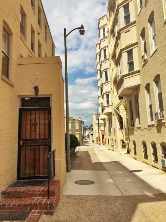 Hidden Places: DC's Three-House Street: Figure 3