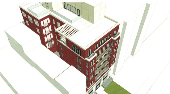 20-Unit Mixed-Use Building Proposed for 16th Street Planned Parenthood Site: Figure 2
