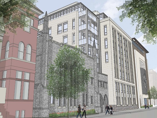 New Design Released for Dupont Circle Church Development: Figure 3