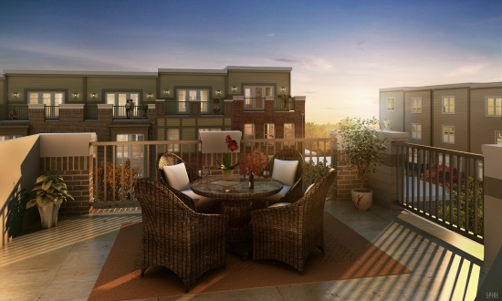 Luxurious New Urban Townhomes in the Heart of Fairfax at Ridgewood by NVHomes: Figure 2