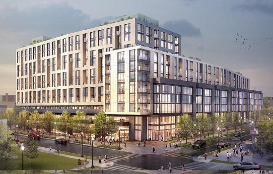 Wilkes Company Plans 401-Unit Mixed-Use Development in NoMa: Figure 1