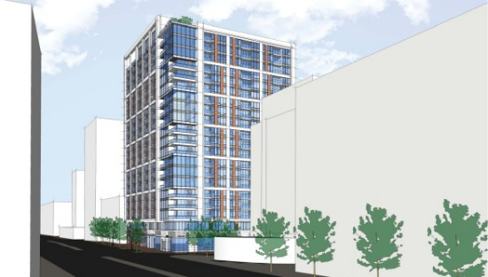 200-Foot Residential Project Now Planned For Bethesda Gas Station Site: Figure 1