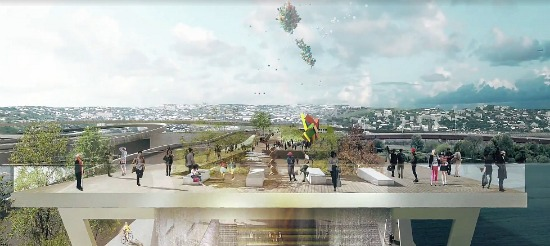 The Winning Design for DC's 11th Street Bridge Park: Figure 1