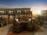 Luxurious New Urban Townhomes in the Heart of Fairfax at Ridgewood by NVHomes