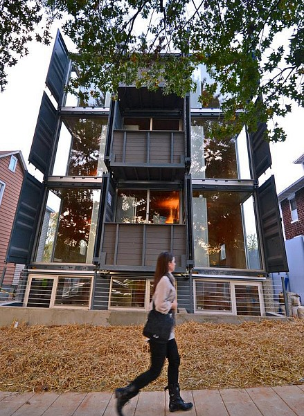 An Interview With the Architect of DC's Shipping Container Apartments: Figure 3