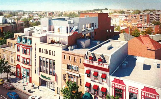 21 Micro-Units Planned Above Office Building in Dupont Circle: Figure 1