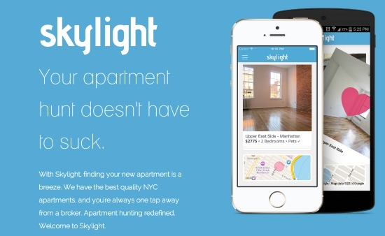 Skylight is the Tinder of the Rental Search: Figure 1