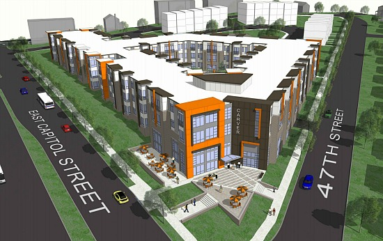 178-Unit Affordable Rental Building and Row Houses Planned For Ward 7: Figure 1