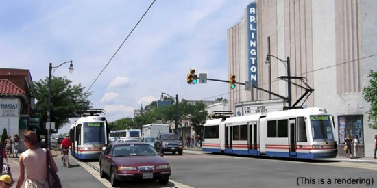 Columbia Pike and Crystal City Streetcar Cancelled: Figure 1