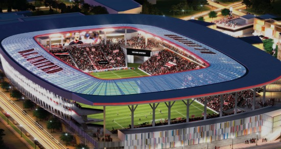 D.C. United Stadium Deal Undervalues Reeves Center, Overvalues Buzzard Point: Figure 1