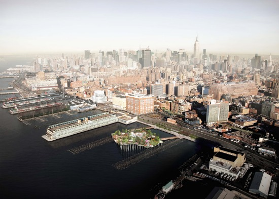 Floating Public Park Proposed for New York City Pier: Figure 2