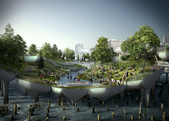 Floating Public Park Proposed for New York City Pier: Figure 3