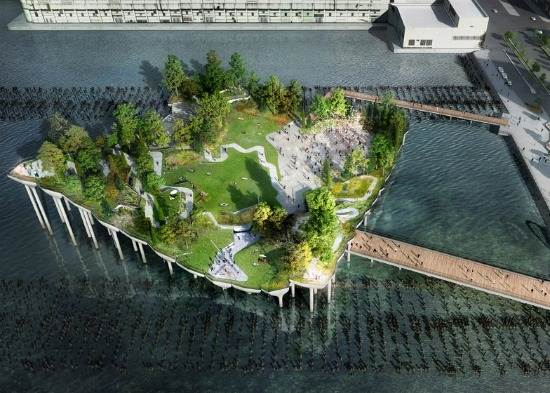 Floating Public Park Proposed for New York City Pier: Figure 1