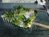 Floating Public Park Proposed for New York City Pier