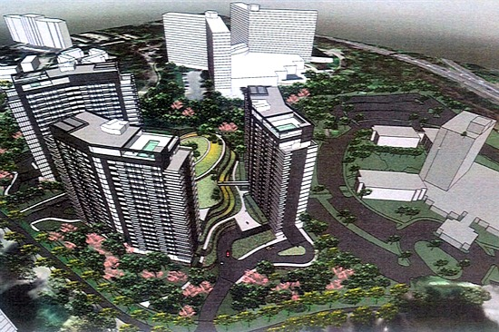 Two High-Rise Residential Towers Proposed for Bethesda Marriott Parking Lots: Figure 1