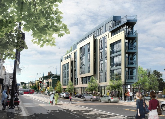 28-Unit H Street Project with No Parking Gets Go-Ahead from Zoning: Figure 1