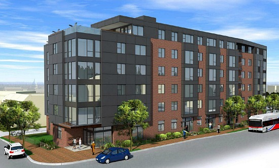 A New Look for 71-Unit Project East of the River: Figure 1