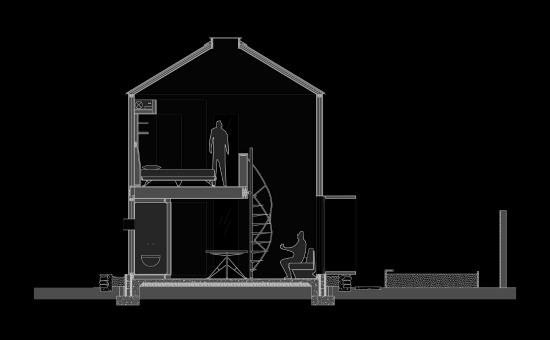 The 340 Square-Foot Home in a Grain Silo: Figure 5