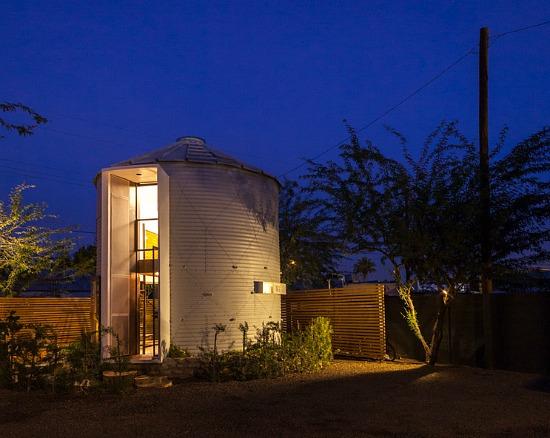 The 340 Square-Foot Home in a Grain Silo: Figure 2