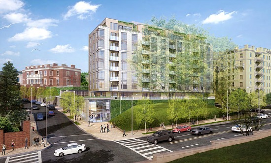 140 Residences Proposed Across From Meridian Hill Park: Figure 1