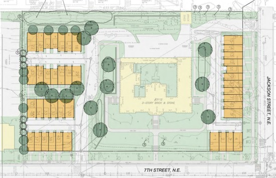 More Details of the 41 Townhomes Planned for Brookland: Figure 2