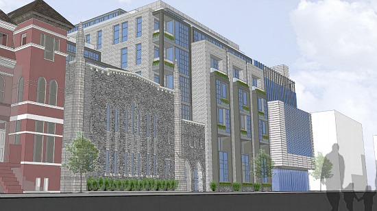New Design Released for Dupont Circle Church Development: Figure 1