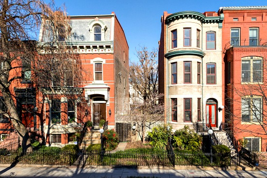 Two Logan Circle Rowhouses and Lot Hit the Market for $6 Million: Figure 1