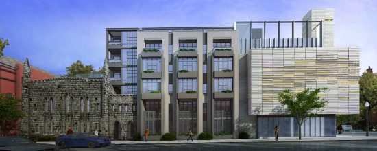 Dupont Circle Church/Residential Project Gets Design Approval: Figure 1
