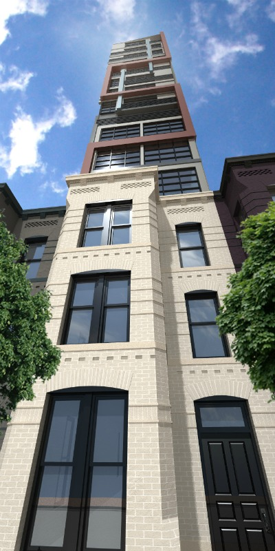 A New Middle Finger: 10-Story Pop-Up Planned For U Street Rowhouse: Figure 3