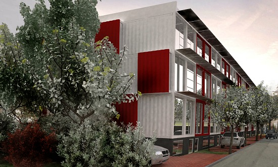 Shipping Container Apartments Proposed Near H Street Will Not Move Forward: Figure 2