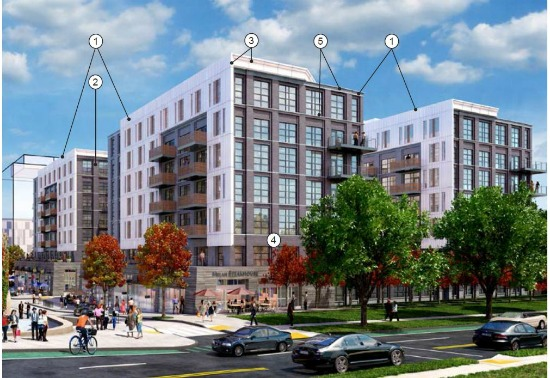The Latest Renderings for Parcel 2 of the McMillan Redevelopment: Figure 2