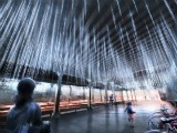 NoMa BID Selects Rainstorm Installation For M Street Underpass