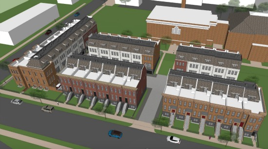 A Closer Look at the Townhome and Condo Project Planned For Capitol Hill Schoolhouse: Figure 2