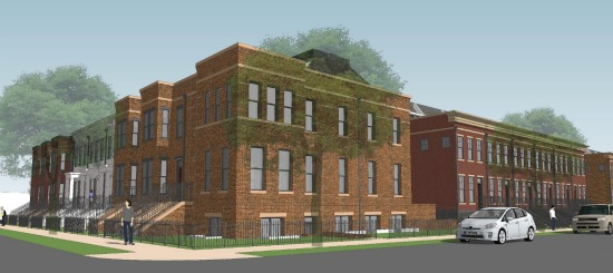 A Closer Look at the Townhome and Condo Project Planned For Capitol Hill Schoolhouse: Figure 3