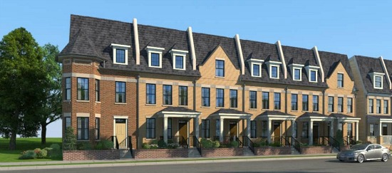Coming to Brookland: 45 High-End Townhomes: Figure 1