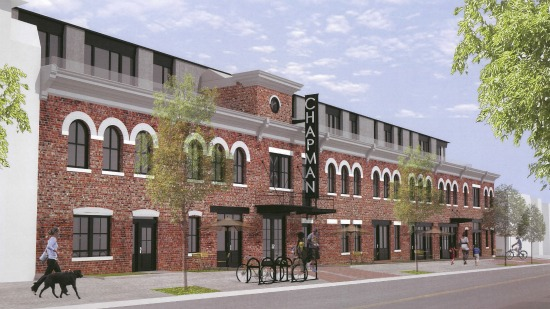 New Details and Renderings for 120-Unit Project at Truxton Circle's Chapman Stables: Figure 1