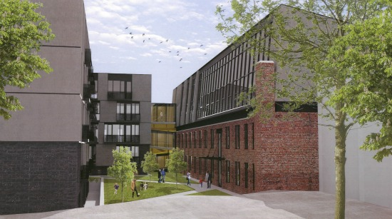 New Details and Renderings for 120-Unit Project at Truxton Circle's Chapman Stables: Figure 3