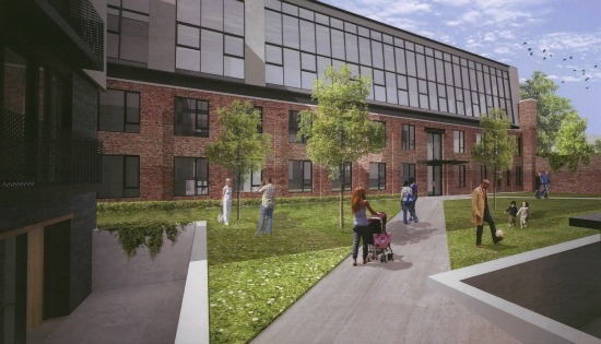 New Details and Renderings for 120-Unit Project at Truxton Circle's Chapman Stables: Figure 4