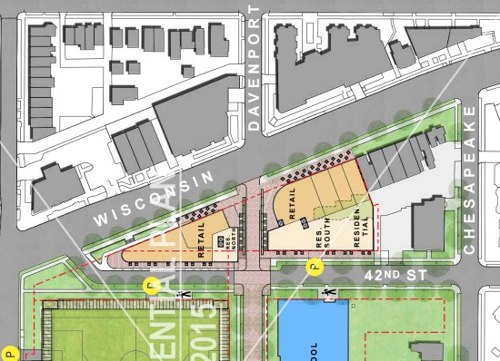Tenleytown School's Expansion Includes Mixed-Use Buildings with 340 Units: Figure 1